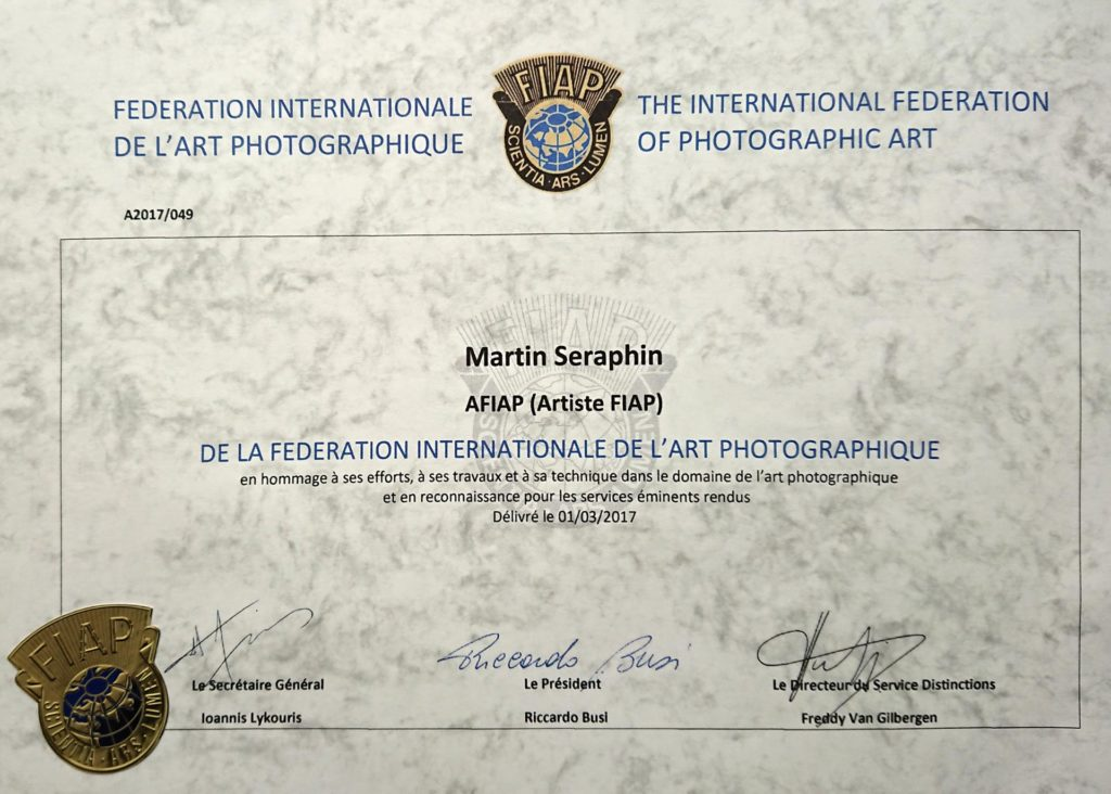 AFIAP-Auszeichnung 1