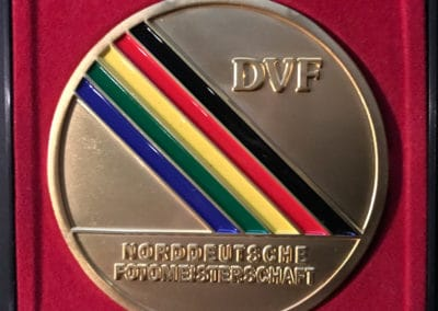 Glod-Medaille Norddeutsche Fotomeisterschaft 2019 Berlin
