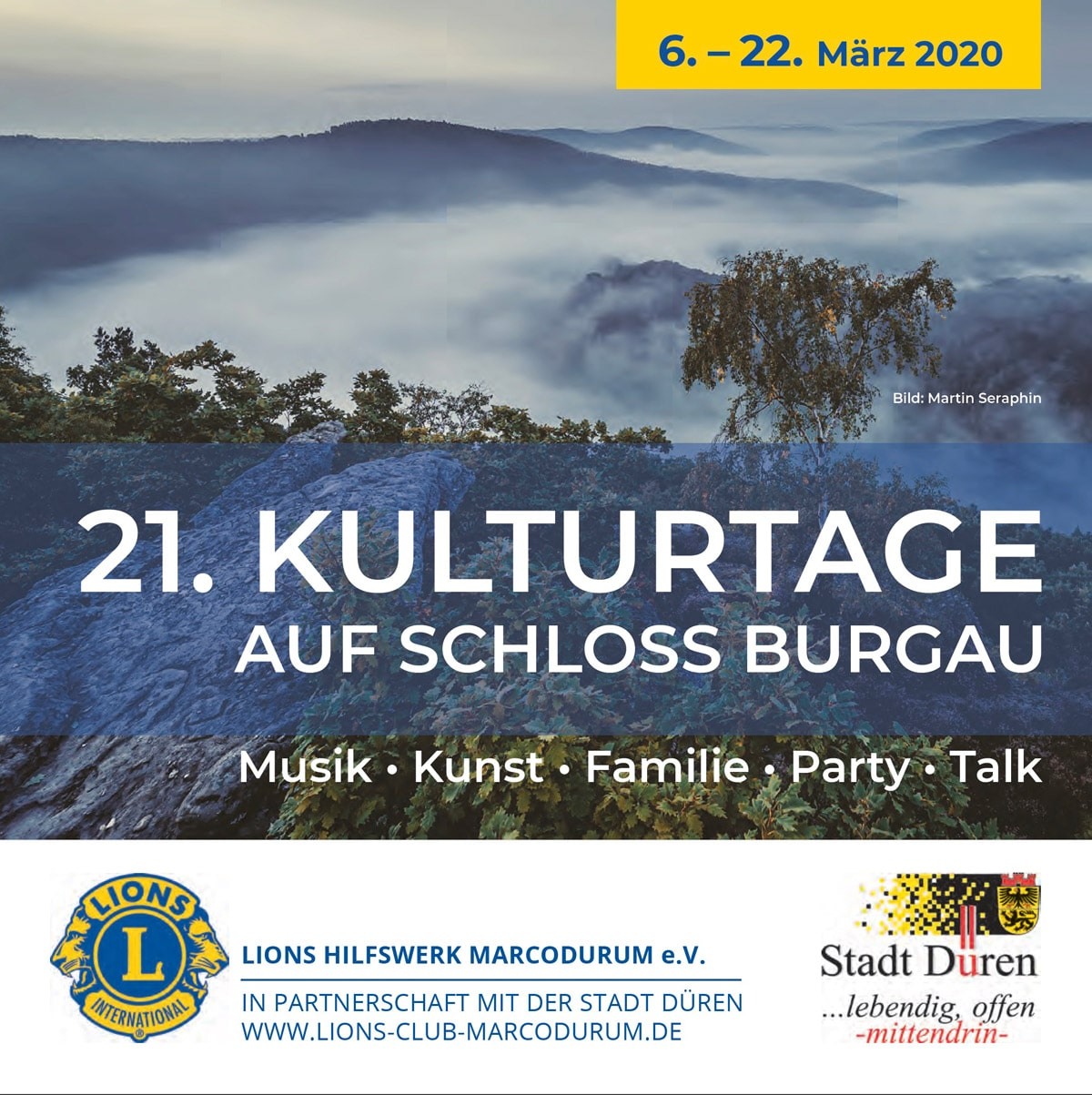 Dürener Kulturtage 2020 - Vernissage - Martin Seraphin