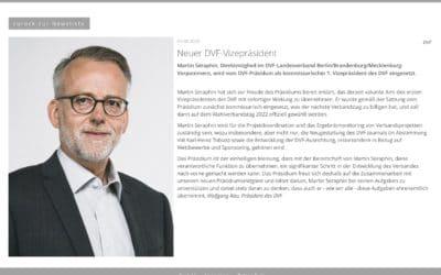 1. Vizepräsident beim DVF